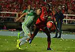 América igualó como local 0-0 ante Atlético Nacional. Fecha 8 Liga Águila I-2017.