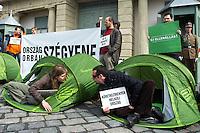 Protest againsts president Schmitt