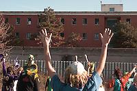 Manifestazione contro il carcere