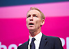 Jim Murphy MP <br /> Shadow International Development Minister <br /> Labour Party Conference, Manchester, Great Britain <br /> 22nd September 2014 <br /> <br /> Jim Murphy MP <br /> <br /> <br /> Photograph by Elliott Franks <br /> Image licensed to Elliott Franks Photography Services