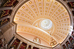 The Old Senate Chamber in the U.S. Capitol in Washington, DC originally housed first the U.S. Senate, and later the U.S. Supreme Court.