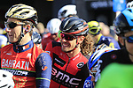 Daniel Oss (ITA) BMC Racing Team waits for the start of Gent-Wevelgem in Flanders Fields 2017, running 249km from Denieze to Wevelgem, Flanders, Belgium. 26th March 2017.<br /> Picture: Eoin Clarke | Cyclefile<br /> <br /> <br /> All photos usage must carry mandatory copyright credit (&copy; Cyclefile | Eoin Clarke)