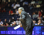 "Ole Miss assistant coach Sergio Rauco vs. Grambling State during the second half at the C.M. ""Tad"" Smith Coliseum in Oxford, Miss. on Monday, November 14, 2011.."