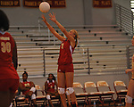 Lafayette High vs. Hartfield Academy in girls high school volleyball playoff action in Oxford, Miss. on Tuesday, October 9, 2012. Lafayette High won 3-0.