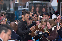 Eric Bana leaves  the Hyatt Hotel after 'The Other Boleyn Girl' Press Conference as part of the 58th Berlinale Film Festival at the Grand Hyatt Hotel on February 15, 2008 in Berlin, Germany.  (Philip Schulte/PressPhotoIntl.com)
