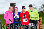 participants who took part in the Kerry's Eye Valentines Weekend 10 mile road race on Sunday were Liz O'Donoghue, Maria Moynihan, Michelle O'Sullivan and Loretta O'Sullivan