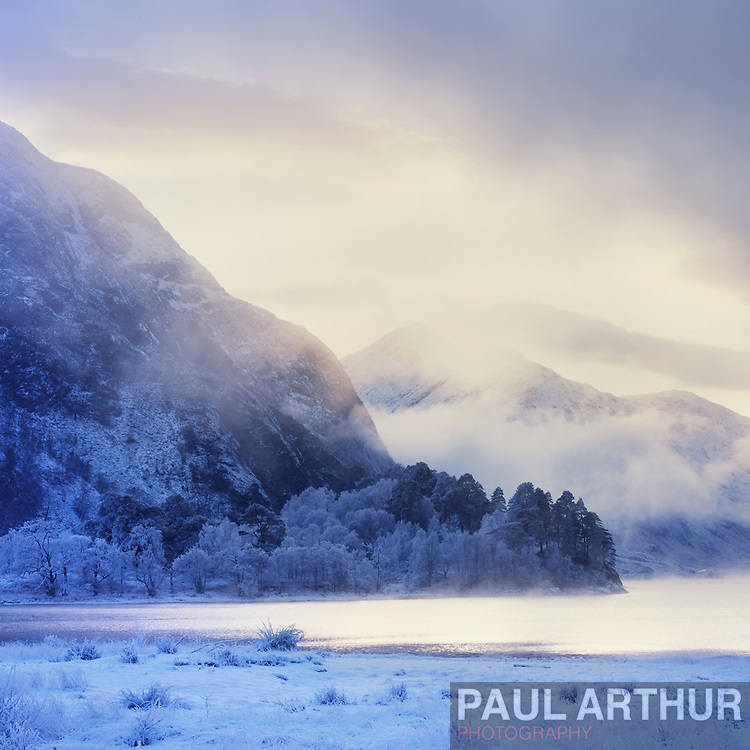 Winter in the Scottish Highlands.