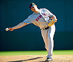 6 March 2010: New York Mets' pitcher Sean Green in action during a Spring Training game against the Washington Nationals at Space Coast Stadium in Viera, Florida. The Mets defeated the Nationals 14-6 in Grapefruit League action. Mandatory Credit: Ed Wolfstein Photo