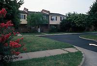 1990 July ..Conservation.Berkley 3..Bell Diamond Public Housing.Corner of Liberty & Craig Street...NEG#.NRHA#..HOUSING:B Dmnd 1 1:2