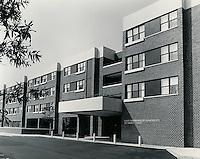 UNDATED..Sykes Neighborhood Apartments.555 Liberty Street.Entrance...NEG#.NRHA#