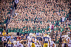 Sept. 5, 2015; Student section during the football game against Texas. Notre Dame won 38-3. (Photo by Matt Cashore)