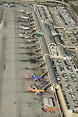 Aerial View of John Wayne Airport Santa Ana California