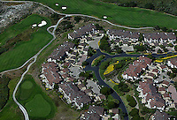 aerial photograph Spanish Bay Resort Golf Course, Monterey, California