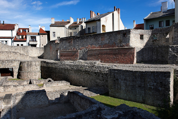 Medieval city walls and ruins - Sopron, Hungary