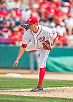 13 March 2016: Washington Nationals pitcher Matt Belisle on the mound during a pre-season Spring Training game against the St. Louis Cardinals at Space Coast Stadium in Viera, Florida. The teams played to a 4-4 draw in Grapefruit League play. Mandatory Credit: Ed Wolfstein Photo *** RAW (NEF) Image File Available ***