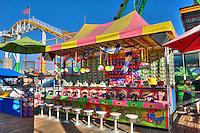 Santa Monica CA Pier, Amusements Pacific Park, California