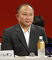 John Woo attends a press conference Wednesday during a promotion for their new film &quot;Red Cliff.&quot; It opens Nov 1 after its debut at the Tokyo International Film Festival in October.  6 August, 2008. (Taro Fujimoto/JapanToday/Nippon News)