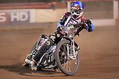 Heat 15: Adam Shields of Lakeside rides to gain the winning point - Lakeside Hammers vs Wolverhampton Wolves - Elite League Speedway at Arena Essex Raceway - 16/05/11 - MANDATORY CREDIT: Gavin Ellis/TGSPHOTO - Self billing applies where appropriate - Tel: 0845 094 6026