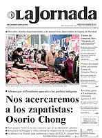 Mercado La Nueva Viga. Portada, 24 de diciembre de 2012