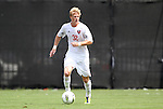 04 September 2011: NCSU's Justin Willis. The University of California Santa Barbara Broncos defeated the North Carolina State University Wolfpack 1-0 at Koskinen Stadium in Durham, North Carolina in an NCAA Division I Men's Soccer game.