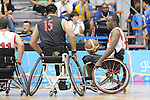 November 18 2011 - Guadalajara, Mexico:  Abdi Fatah Dini of Team Canada controls the ball in the CODE Alcalde Sports Complex at the 2011 Parapan American Games in Guadalajara, Mexico.  Photos: Matthew Murnaghan/Canadian Paralympic Committee