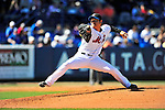 7 March 2010: New York Mets' pitcher Hisanori Takahashi on the mound during a Spring Training game against the Washington Nationals at Tradition Field in Port St. Lucie, Florida. The Mets edged out the Nationals 6-5 in Grapefruit League pre-season play. Mandatory Credit: Ed Wolfstein Photo