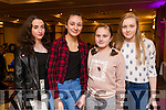 Natasha McAulliffe, Castleisland Yasmine McGrath, Abbeydorney, Megan and Emma Enright, Cordal at Home and Away star George Mason appearance at the Meadowlands Hotel on Sunday.