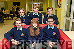 Pictured at the Science quiz at IT Tralee South Campus on Thursday were students from Casueway Comprehensive, Alana O'Connor, Solas O'Halloran  Matt Tyrkiel, Sean Williams, Adam Dowling and John Crowley