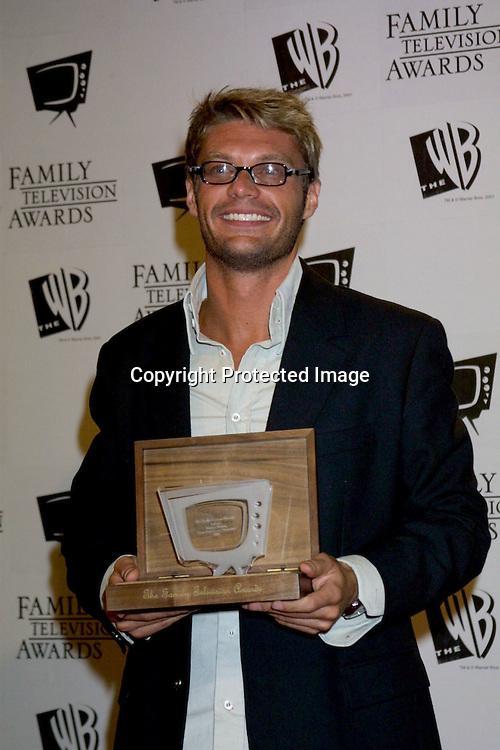 ©2003 KATHY HUTCHINS/HUTCHINS PHOTO.5thANNUAL FAMILY TV AWARDS.BEVERLY HILTON HOTEL.BEVERLY HILLS, CA  8/14/03.. RYAN SEACREST