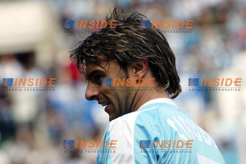 Roma 16/5/2004 Lazio Modena 2-1 Campionato Italiano Serie A 2003/2004 <br /> Claudio Lopez (Lazio) <br /> Photo Andrea Staccioli Insidefoto