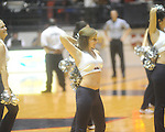 "Rebelettes dance at the C.M. ""Tad"" Smith Coliseum in Oxford, Miss. on Wednesday, November 17, 2010."