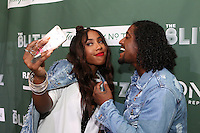 NEW YORK, NY - AUGUST 16, 2016 Jean Stars, Sevyn Streeter & lLoyd attend the Radio One: The Blitz Music Showcase at Stage 48 August 16, 2016 in New York City. Photo Credit: Walik Goshorn / Mediapunch
