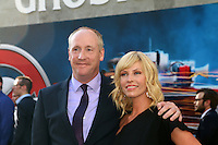 HOLLYWOOD, CA - JULY 9: Matt Walsh, Morgan Walsh at the premiere of Sony Pictures' 'Ghostbusters' held at TCL Chinese Theater on July 9, 2016 in Hollywood, California. Credit: David Edwards/MediaPunch