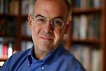 ©2011 David Burnett.Contact Press Images / New York NY.212 695 7750.New York NY.CathySaypol representation.saypolpr@AOL.com. January 14, 2011.Bethesda, MD.Author David Brooks at home, in Bethesda, MD