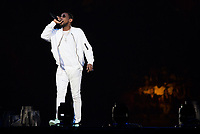 MIAMI, FL - APRIL 15: Fabolous performs during The Party Tour at American Airlines Arena in Miami. April 15, 2017. <br /> CAP/MPIAG<br /> &copy;MPIAG/Capital Pictures