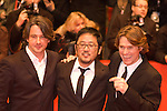 Willem Dafoe, Dennis Lee and Marco Weber attend the &quot;Fireflies In The Garden&quot; premiere during day four of the 58th Berlinale International Film Festival held at the Berinale Palast on February 10, 2008 in Berlin, Germany.  (Philip Schulte/PressPhotoIntl.com)