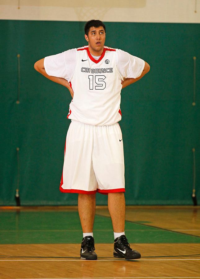 April 9, 2011 - Hampton, VA. USA;  Sim Bhullar participates in the 2011 Elite Youth Basketball League at the Boo Williams Sports Complex. Photo/Andrew Shurtleff