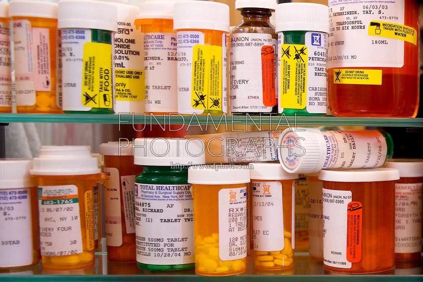 OVERSTOCKED MEDICINE CABINET<br /> Array of Prescription Drugs