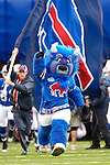 24 September 2006: Buffalo Bills mascot Billy Buffalo in action during pre-game home opening activities at Ralph Wilson Stadium in Orchard Park, NY. The Jets defeated the Bills 28-20. Mandatory Photo Credit: Ed Wolfstein Photo
