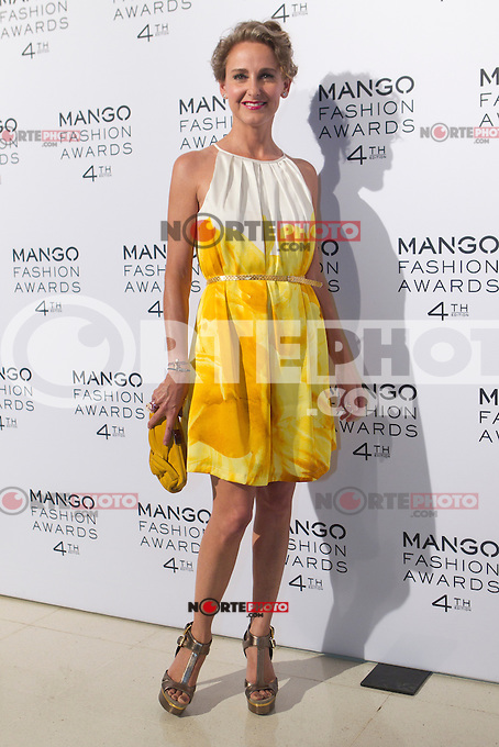 Carla Royo Villanova attends the Mango Fashion Awards,  Barcelona Spain, May 30, 2012.