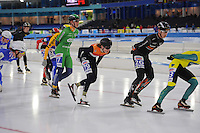 SCHAATSEN: HEERENVEEN: 01-01-2017, NK Marathonschaatsen, ©foto Martin de Jong