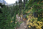 Hike to Blue Lake in the Cascade Mountains, Washington State