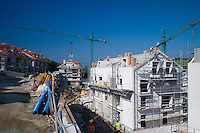 Housing development in San Vicente de la Barquera, Cantabria. There has been EU funding for many building projects in Spain.