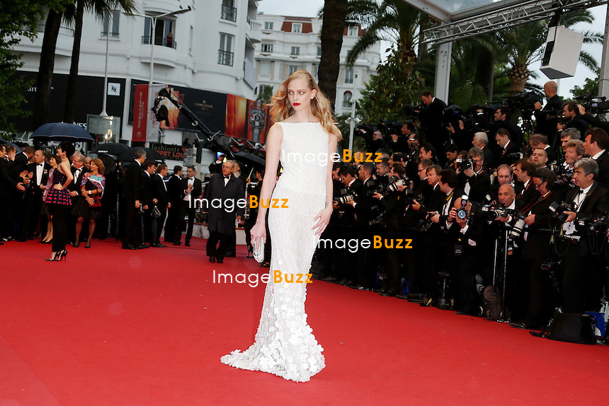 CPE/Tanya Dziahileva attends the Opening Ceremony and 'The Great Gatsby' Premiere during the 66th Annual Cannes Film Festival at the Theatre Lumiere on May 15, 2013 in Cannes, France.