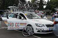 Spare cycles on the team car during the Abergavenny Festival of Cycling &quot;Grand Prix of Wales&quot; race on Sunday 17th 2016<br /> <br /> <br /> Jeff Thomas Photography -  www.jaypics.photoshelter.com - <br /> e-mail swansea1001@hotmail.co.uk -<br /> Mob: 07837 386244 -