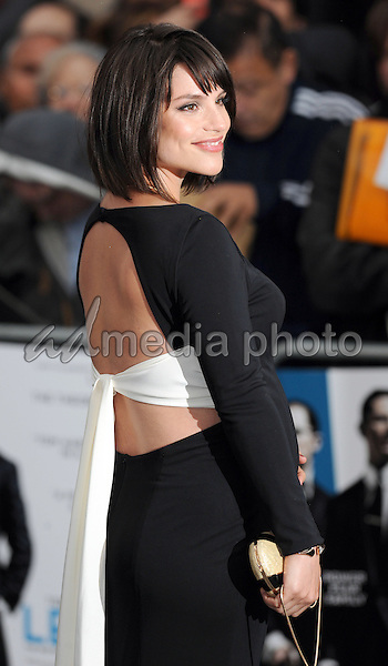 """03 September 2015 - London, England - Charlotte Riley. """"Legend"""" London Premiere held at Odeon Leicester Square. Photo Credit: Jeff Spicer/Alpha Press/AdMedia"""