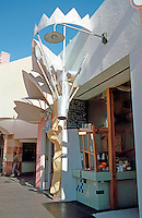 Jon Jerde: Horton Plaza Pastry Shop--designed by Tom Grondona.  Photo '85.