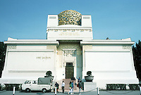 Josef Maria Olbrich: House of the Secession, Vienna 1898. Translation: To the Age It's Art, To Art It's Freedom. Photo '87.