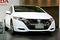 Honda FCX Clarity on display during the first press day for the 41th Tokyo Motor Show, 21 October 2009 in Tokyo (Japan). The TMS will be open for the public from 23 October 2007 to 4 November 2009.