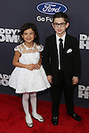 Actors Scarlett Estevez and Owen Vaccaro at Paramount Pictures and Red Granite Pictures presents the New York Premiere of Daddy's Home sponsored by Ford Motor Company held at AMC Lincoln Square